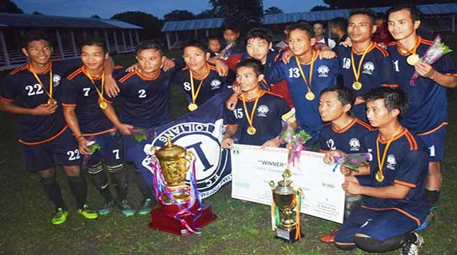 Arunachal: United Loiliang FC reclaims the 11thT Chai Running Memorial Trophy
