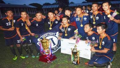 Arunachal: United Loiliang FC reclaims the 11th T Chai Running Memorial Trophy
