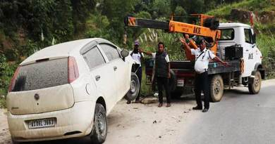 Itanagar: Do not abandoned your vehicle on roadside-Traffic police