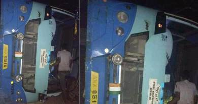 Arunachal: APST bus met with an accident, 1 died, 8 injured