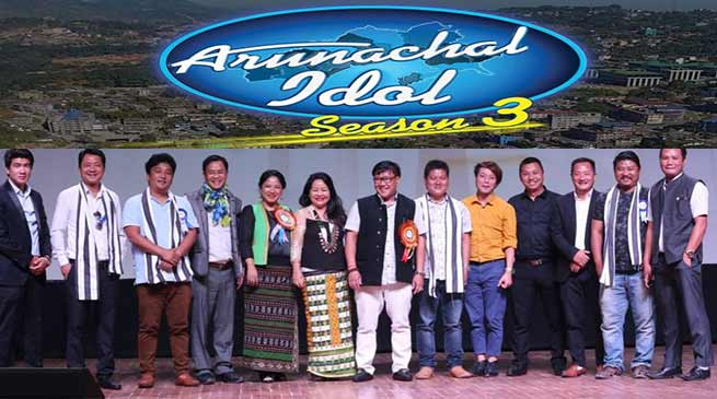 Itanagar: Kumar Waii interacted with Arunachal Idol contestant