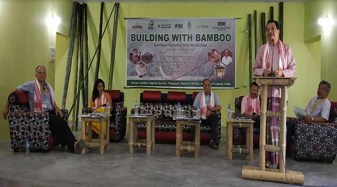 "We could market Arunachal Pradesh through Bamboo and its products""- Chowna Mein"