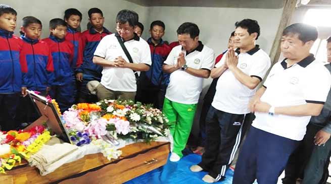 Itanagar: ASBA conveys condolence to Tadar Eva