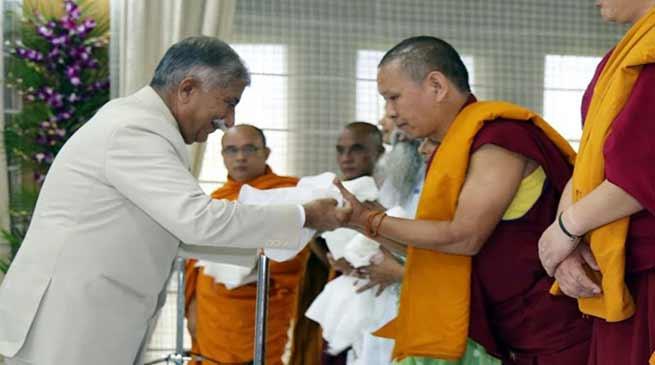 Arunachal: Gandhi Jayanti observed in Raj Bhavan