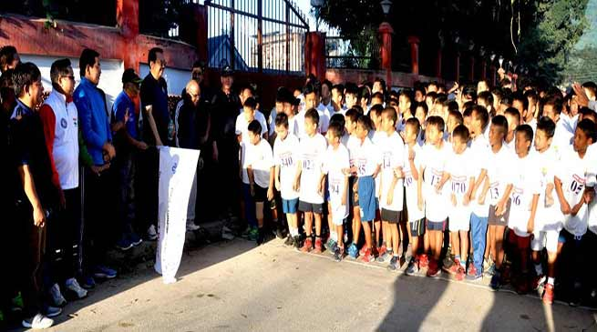 Arunachal Governor participates in National Unity Day celebration