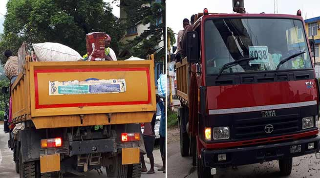 Itanagar: Traffic police should check govt vehicle too- locals