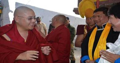 Arunachal: HE Rinpoche reaches Tawang on a week long visit