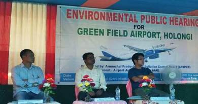 Arunachal: Environmental public hearing for Greenfield Hollongi Airport