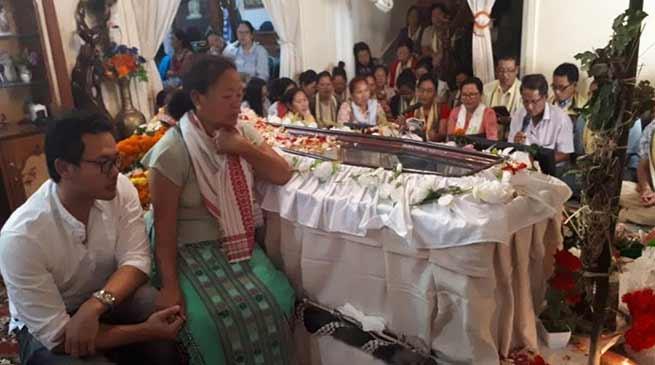 Arunachal:Hundreds paid homage to Late Neelam Nido