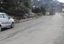 Itanagar : Carpeting on NH-415 begins