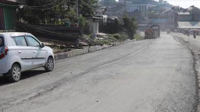 Photo of Itanagar : Carpeting on NH-415 begins