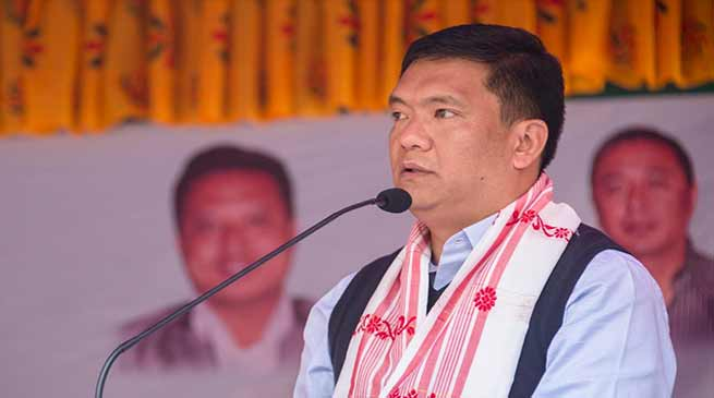 Arunachal CM warns CoSSAP: PR maybe imposed if employees go on strike