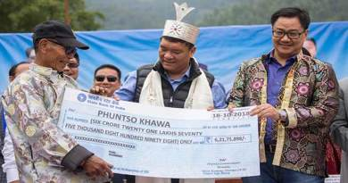 Arunachal Villagers get land compensation cheques after 58 years