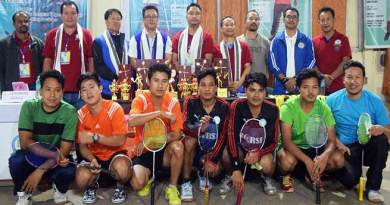 Itanagar: 6th University Badminton League-2018 concludes