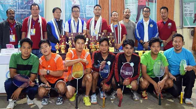 Itanagar: 6thUniversity Badminton League-2018 concludes