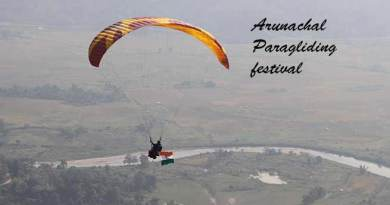 Mama Natung inauguratesArunachal Paragliding festival