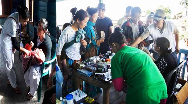 Arunachal: Bhalukpong Hope Health Centre conducted health camps in remote villages