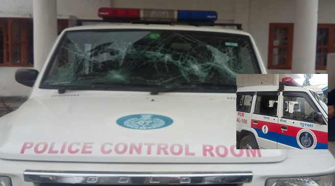 Arunachal Scout Mob attacks Bomdila Police Station, manhandled police personnel