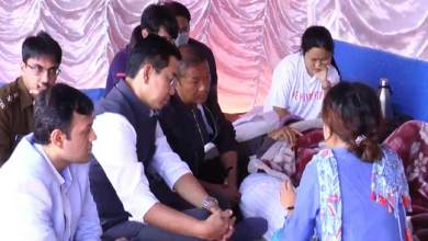 Arunachal: Felix and Chai meet protesting candidates, appeal to them to call off hunger strike