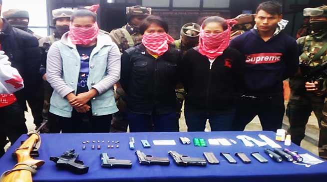 Arunachal: Five NDFB(s) Cadres apprehended in Jairampur