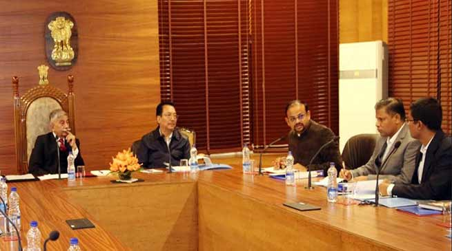 Itanagar: Governor chairs meeting on Kendriya Vidhyala