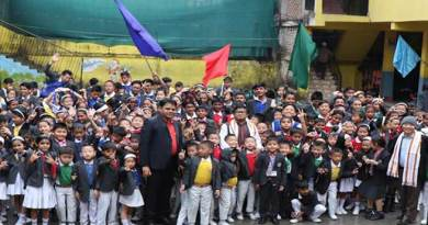 Itanagar: Guardian Angel School observed 15th Annual sports meet