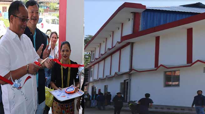 Arunachal: Kaso inaugurates Techi Takar Multipurpose community Hall
