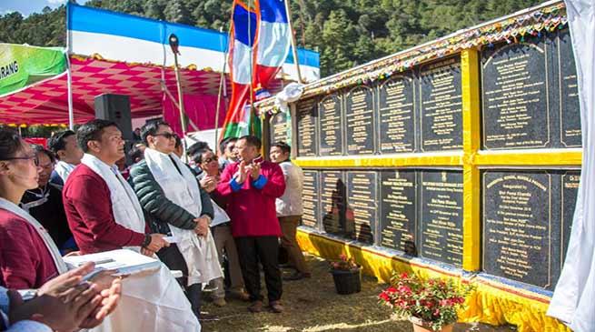 Arunachal: Khandu inaugurates several projects in Dirang Constituency