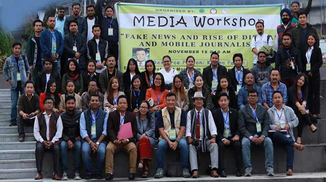 "Workshop on ""Fake News and Rise of Digital and Mobile Journalism"""