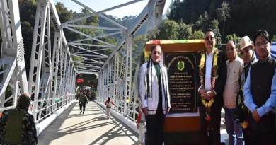 Arunachal: Mein inaugurates Steel Girder Bridge over river Panior