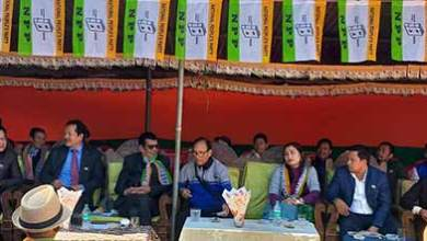 Photo of Arunachal: Gicho Kabak inaugurates NPP office at Aalo