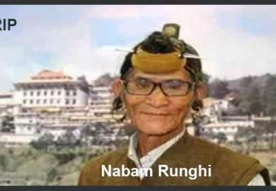 Arunachal:Architect of Itanagar Nabam Runghi passes away