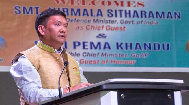 Arunachal CM Stresses need for Border trade through Stilwell road