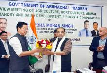 Mithun husbandry will be promoted in Arunachal- Radha Mohan Singh