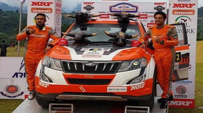 Arunachal:Amittrajit Ghosh wins Rally of Arunachal 2018