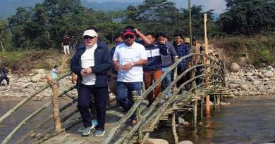 Arunachal: Rebia inspects Papum Poma River Festival site