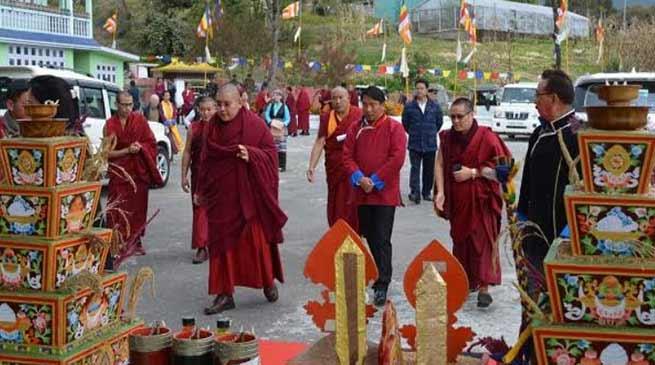 Arunachal: 7th Tenzin Lungtok Rinpochevisits Tawang