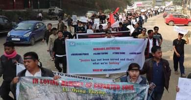 Arunachal:Victim's family members demand HM Kumar Waii's resignation