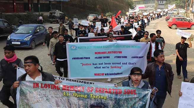 Arunachal: Victim's family members demand HM Kumar Waii's resignation