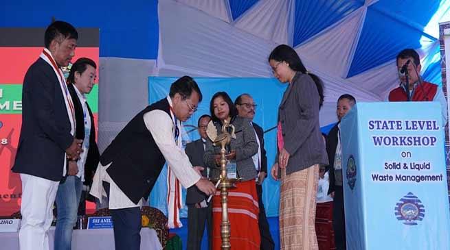 Arunachal: Lowang inaugurates State Level Workshop on Solid & Liquid Waste management