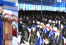 Photo of Arunachal Governor asks Graduate students, Pay back to the society