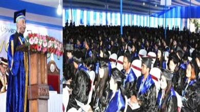 Arunachal Governor asks Graduate students, Pay back to the society