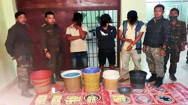 Arunachal: 15 gamblers arrested , recovered gambling materials