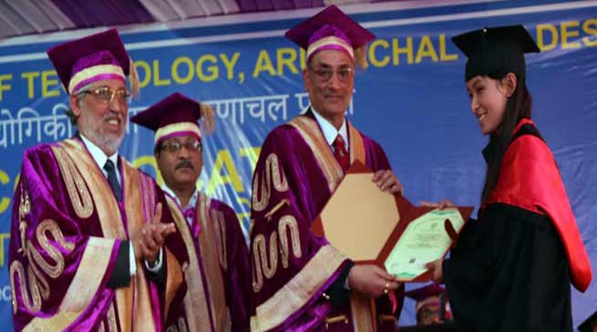 Arunachal: 5th Convocation of NIT Arunachal Pradesh held