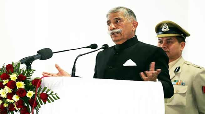Arunachal Governor inaugurates workshop on capacity building