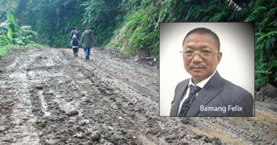 Arunachal: 5025 Km roads projects worth of 3837cr under PMGSY cleared by Centre- Bamang Felix