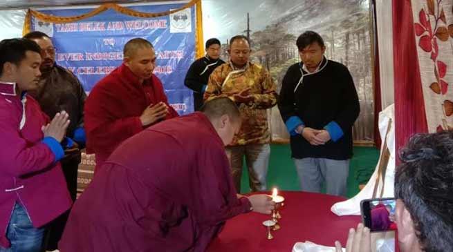 Arunachal: Indigenous faith day was celebrated today at Tawang
