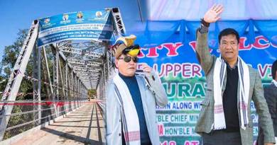 Arunachal: Khandu inaugurates steell bridge over Panyor River at Komasaki