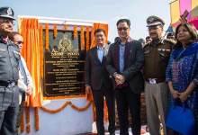 Itanagar: Khandu lays foundation stone of 12 NDRF Bn HQ at Hollongi