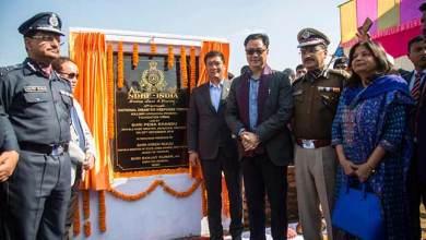 Photo of Itanagar: Khandu lays foundation stone of 12 NDRF Bn HQ at Hollongi